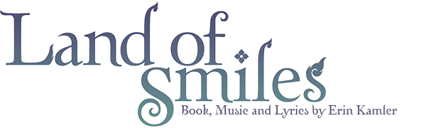 Land of Smiles The Musical Logo